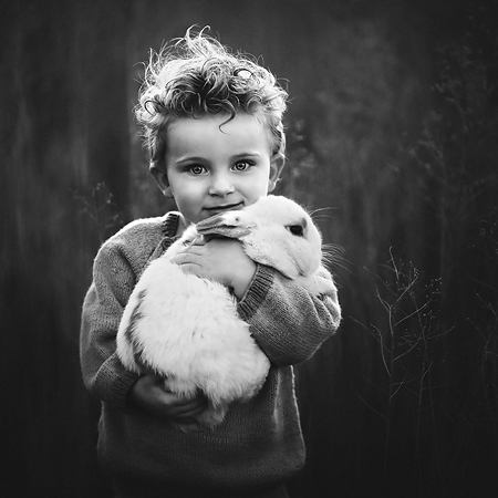Fine art film black and white Photoshop action by Lisa Holloway. LJHolloway Photography is a Las Vegas Child Photographer.